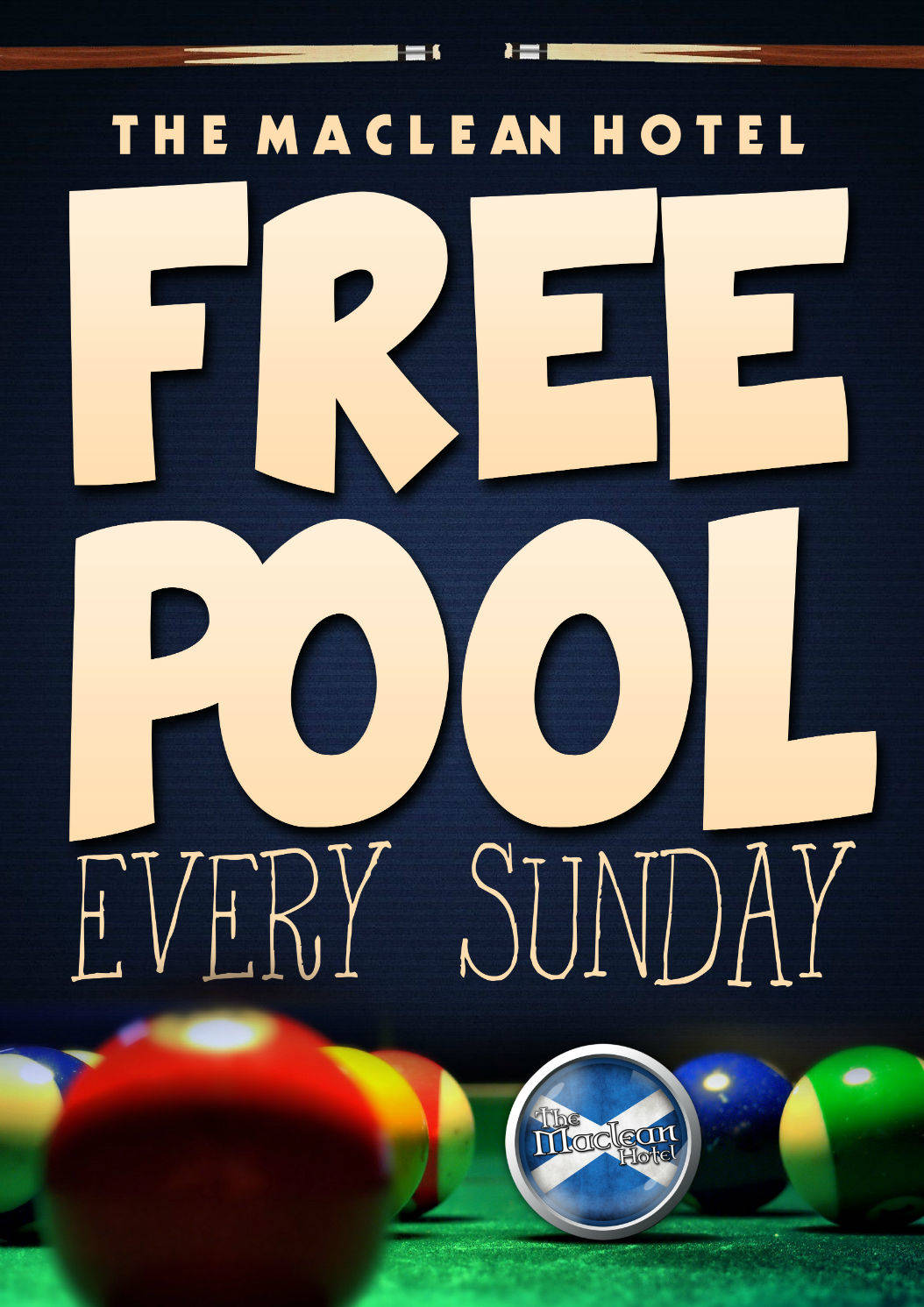 Free Pool Sunday